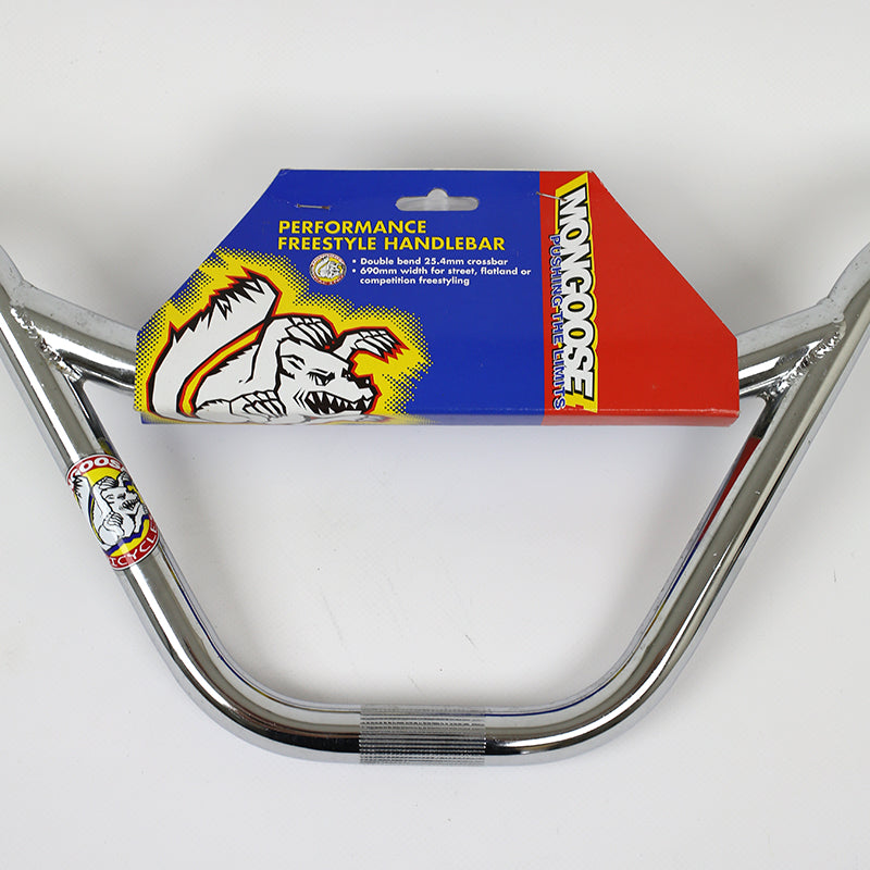NOS - Mongoose Freestyle BMX chrome handlebars