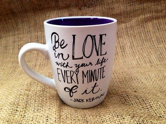 Jack Kerouac Quote Mug