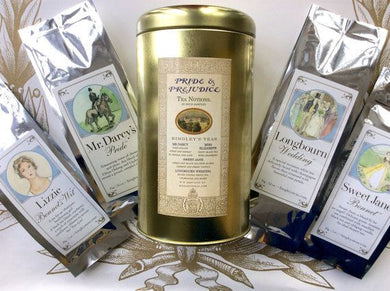 Jane Austen's Pride And Prejudice Inspired Tea Sampler