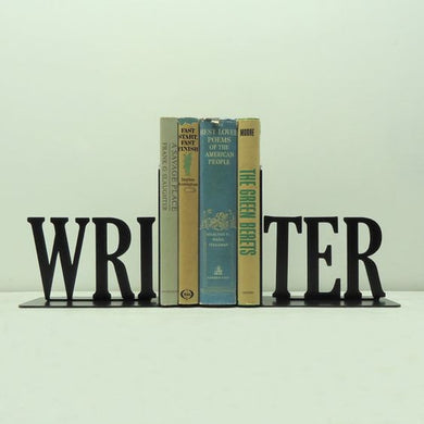 Industrial Home Decor Writer Bookend