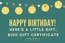 Happy Birthday e-Gift Certificate In Green