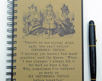 Lewis Carroll's Alice Through The Looking Glass Journal