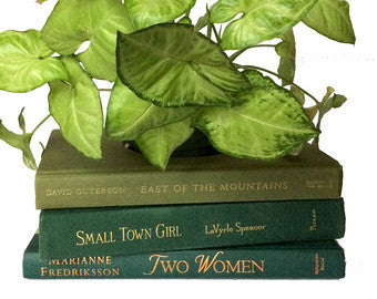 Book Planter In Green