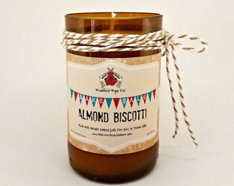 Almond Biscotti Scented Candle