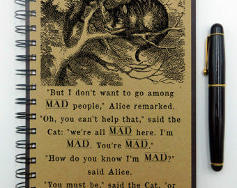 Lewis Carroll's Mad Hatter Journal
