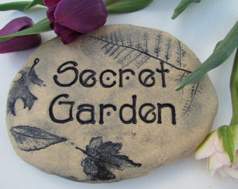 Secret Garden Handcrafted Stone Accent