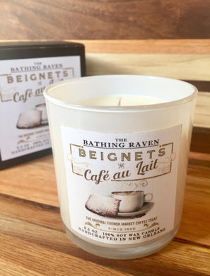 Beignets And Cafe Au Lait Scented Candle