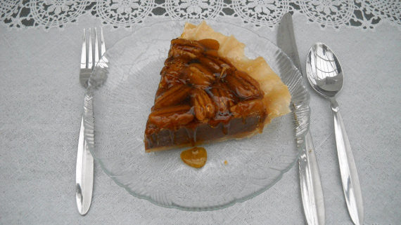 Slice Of Pecan Pie Scented Fake Food Candle