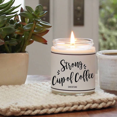 Strong Cup Of Coffee Scented Candle