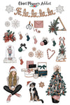 Christmas Holiday Season Planner Stickers (S-367)