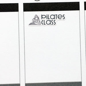 Reformer Pilates Class Planner Stickers (S-422)