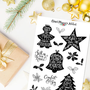 Christmas Planner Stickers (S-436)