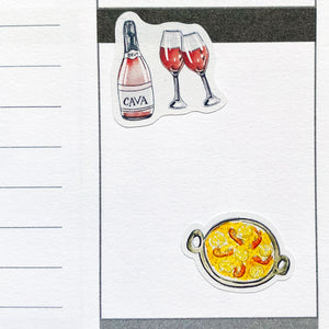 I Love Spain Planner Stickers (S-463)