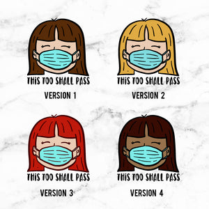 This Too Shall Pass Planner Stickers (S-472)