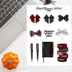 Halloween Planner Stationery Stickers (S-525)
