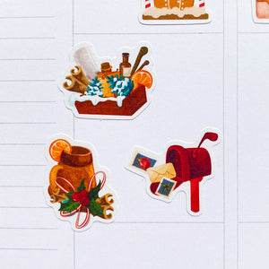 Christmas Toys Planner Stickers (S-530)