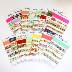 Washi Tape Samples | Sampler Cards