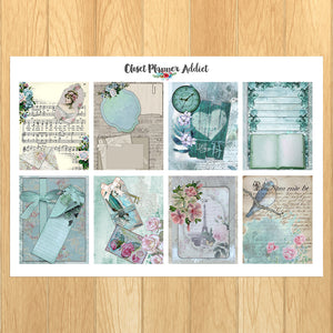 Vintage Planner Stickers (MGB-AUG19)