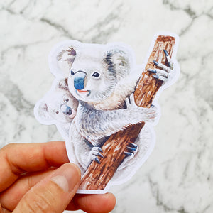 Koala Bears Die Cut Stickers (DC-011)