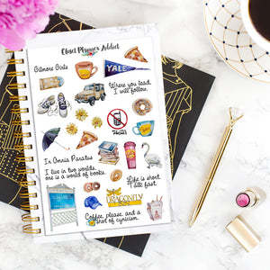 Gilmore Girls Planner Stickers (S-362)