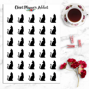 Cats Icons Planner Stickers (I-047)