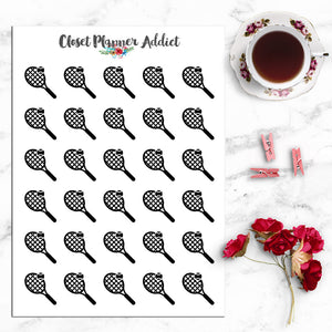 Tennis Icon Planner Stickers (I-057)
