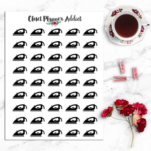 Ironing Planner Stickers (I-059)