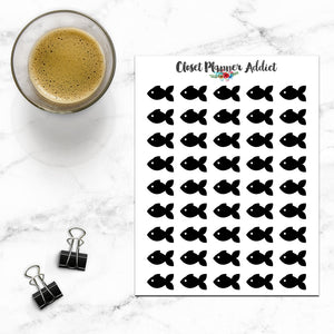 Fish Planner Stickers (I-068)