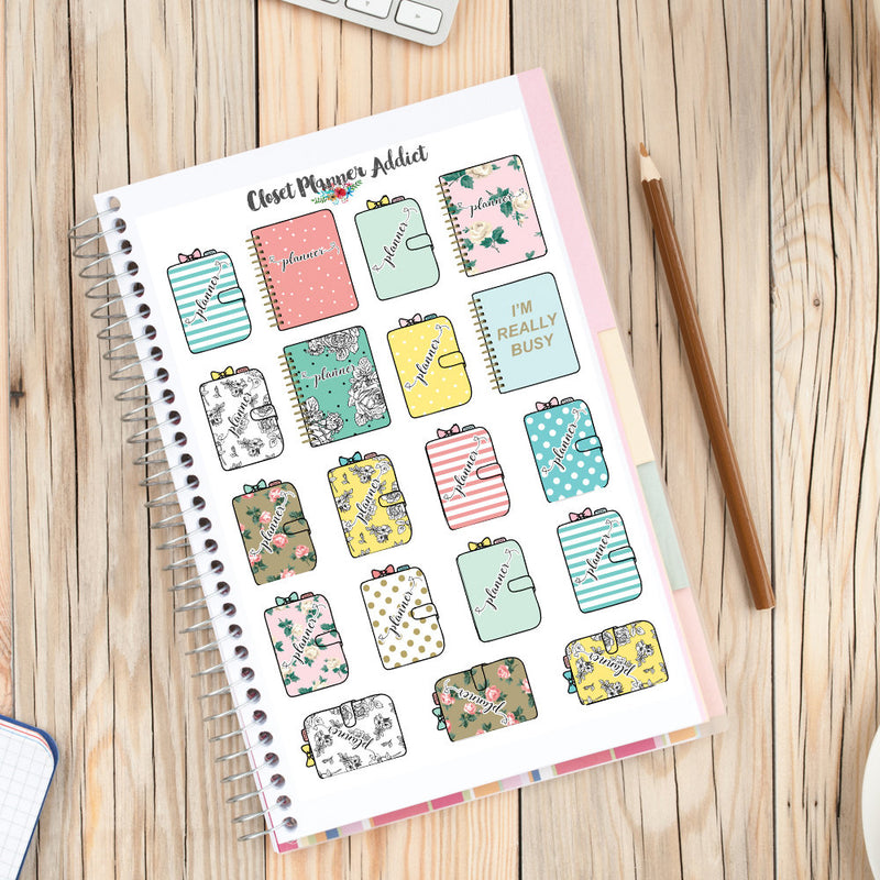 Planner Diaries Planner Stickers (S-215)