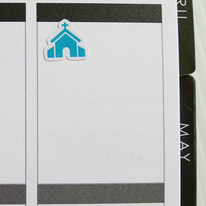 Church Planner Stickers (I-060)
