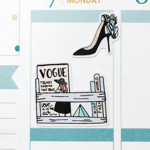 Fashion and Lifestyle Planner Stickers