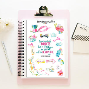 Alice in Wonderland Planner Stickers (MGB-SEP17)