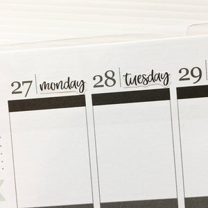 Days of the Week Planner Stickers (DATE-003)