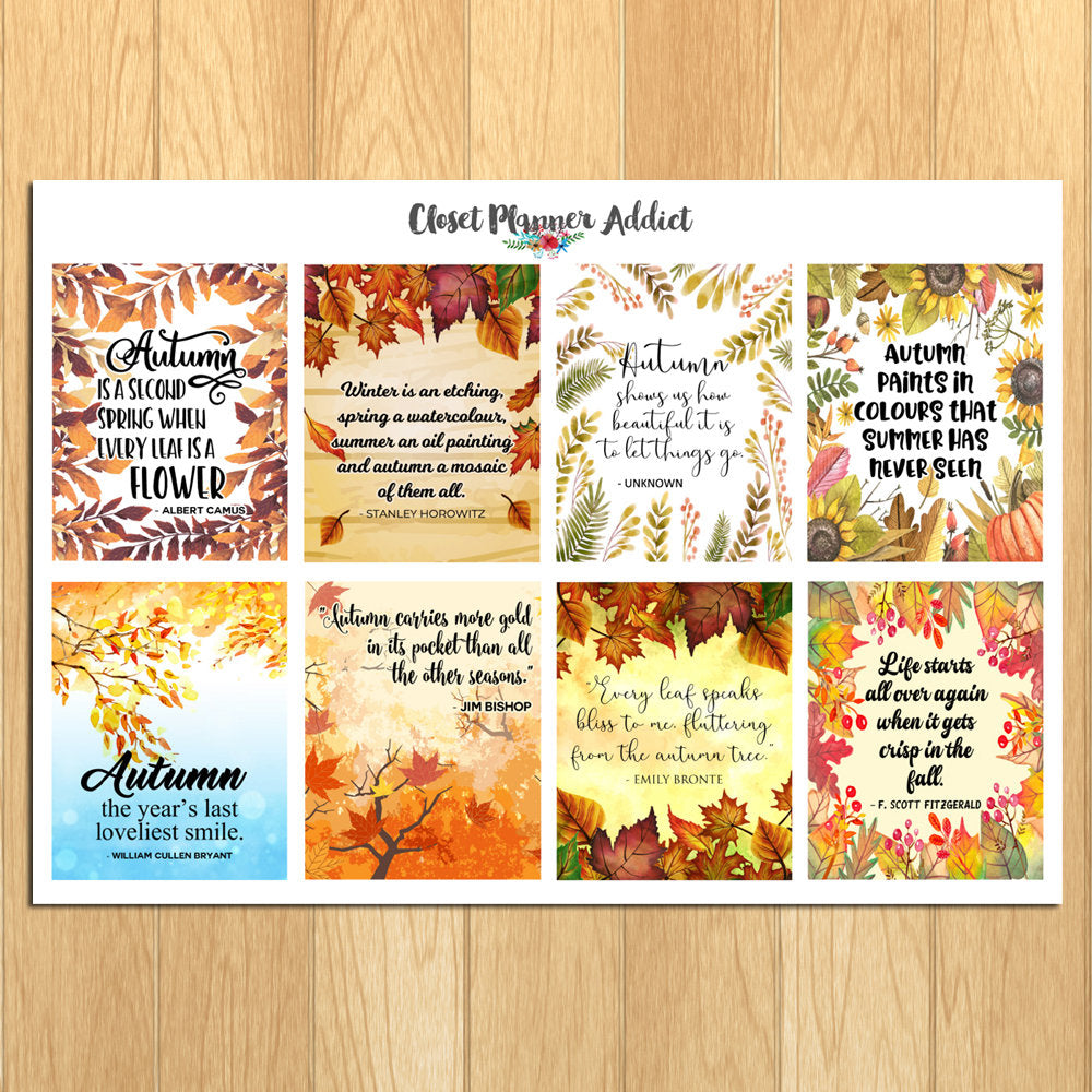 Motivational & Inspirational Quotes Planner Stickers (MS-024)