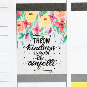 Motivational & Inspirational Quotes Planner Stickers (MS-026)
