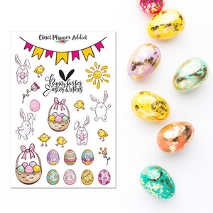 Happy Easter Planner Stickers (S-307)