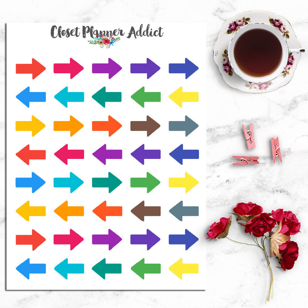 Arrow Icons Planner Stickers (I-032)