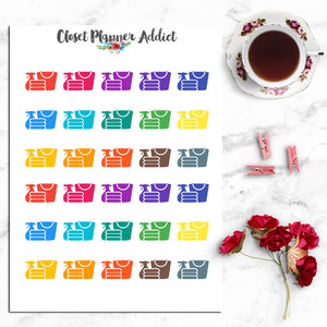 Cleaning Housework Planner Stickers (I-006)