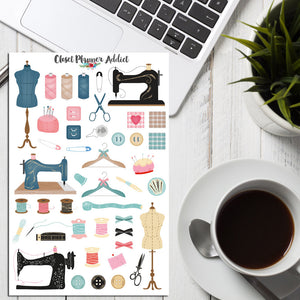 Sewing Planner Stickers