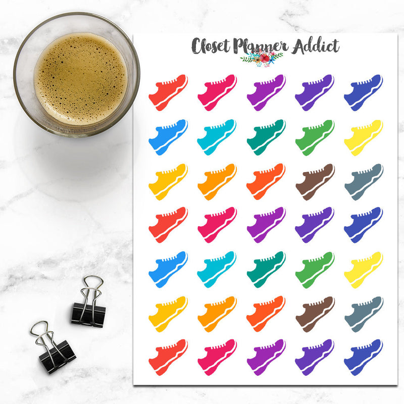 Sneakers Shoes Icon Planner Stickers (I-029)