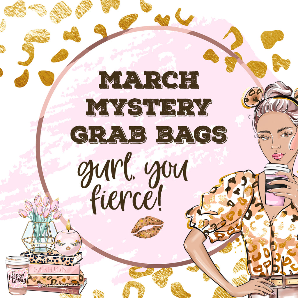 March 2021 Mystery Grab Bags by Closet Planner Addict