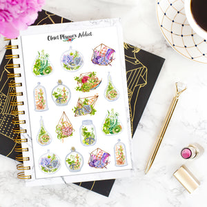 Terrariums Planner Stickers (MGB-APR19)