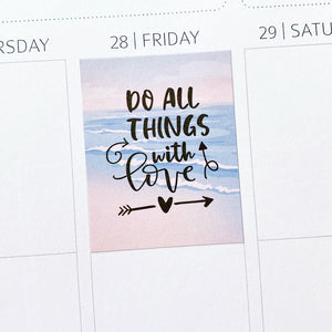 Motivational & Inspirational Quotes Planner Stickers (MS-036)