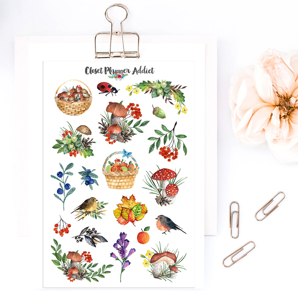 Woodland Planner Stickers (MGB-OCT19)