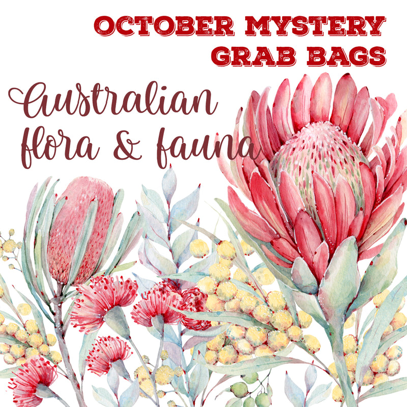 October 2020 MYSTERY GRAB BAGS | Australian Flora and Fauna