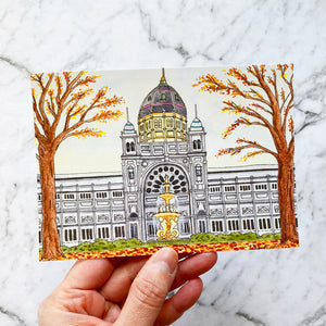 Royal Exhibition Building Melbourne Australia Postcard (PC-005)
