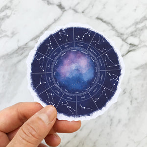 Written in the Stars Die Cut Stickers (DC-001)