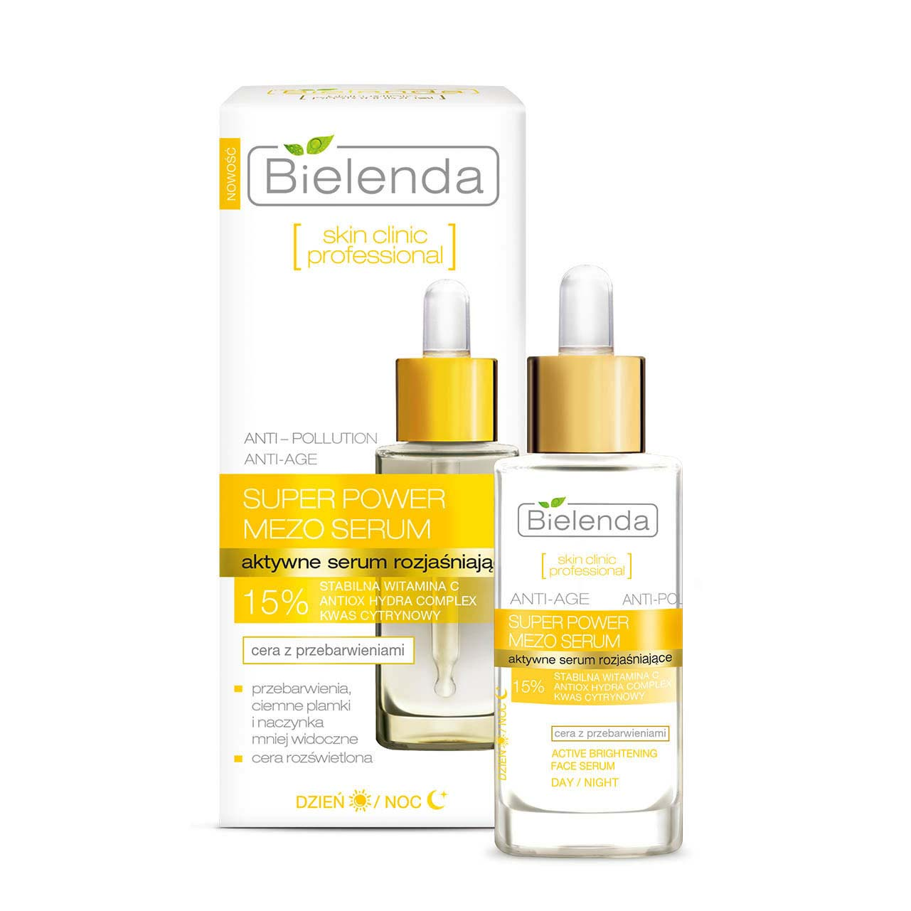 Bielenda Skin Clinic Mezo 15 Vitamin C Serum Sottime I Face 10ml