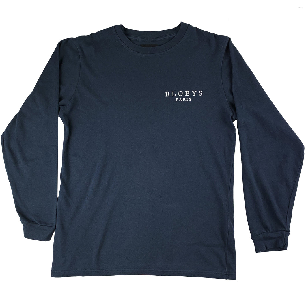 Blobys Paris Long Sleeve T Shirt
