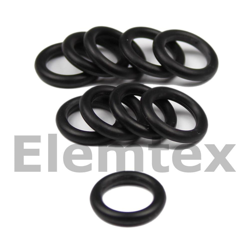OR11202, O Ring Nitrile Rubber, for 10mm combustion tubes and plain scrubbing tubes 29050306